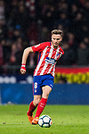 Saul Niguez Esclapez of Atletico de Madrid in action during the La Liga 2017-18 match between Atletico de Madrid and CD Leganes at Wanda Metropolitano on February 28 2018 in Madrid, Spain. Photo by Diego Souto / Power Sport Images