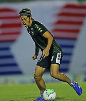 26th August 2020; Estadio Vila Capanema, Curitiba, Brazil; Copa Do Brasil, Parana Clube versus Botafogo; Keisuke Honda of Botafogo during warm-up