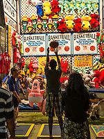 Basketball shoot, Atlantic City, New Jersey, USA