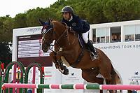 10th September 2021; Circo Massimo Stadium Rome, Italy; Longines Global Equestrian Champions Tour:  Abdel Said