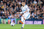 Carlos Henrique Casemiro of Real Madrid in action during the UEFA Champions League 2017-18 quarter-finals (2nd leg) match between Real Madrid and Juventus at Estadio Santiago Bernabeu on 11 April 2018 in Madrid, Spain. Photo by Diego Souto / Power Sport Images
