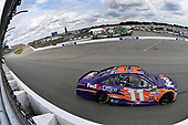 Monster Energy NASCAR Cup Series<br /> Pure Michigan 400<br /> Michigan International Speedway, Brooklyn, MI USA<br /> Sunday 13 August 2017<br /> Denny Hamlin, Joe Gibbs Racing, FedEx Office Toyota Camry<br /> World Copyright: Logan Whitton<br /> LAT Images