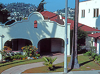 Los Angeles (Echo Park): 3465 Winslow. Mission Revival. Photo '91.
