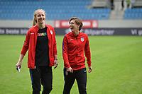 Sandefjord, Norway - June 11, 2017: Becky Sauerbrunn, Meghan Klingenberg and the USWNT take on Norway in an international friendly at Komplett Arena.