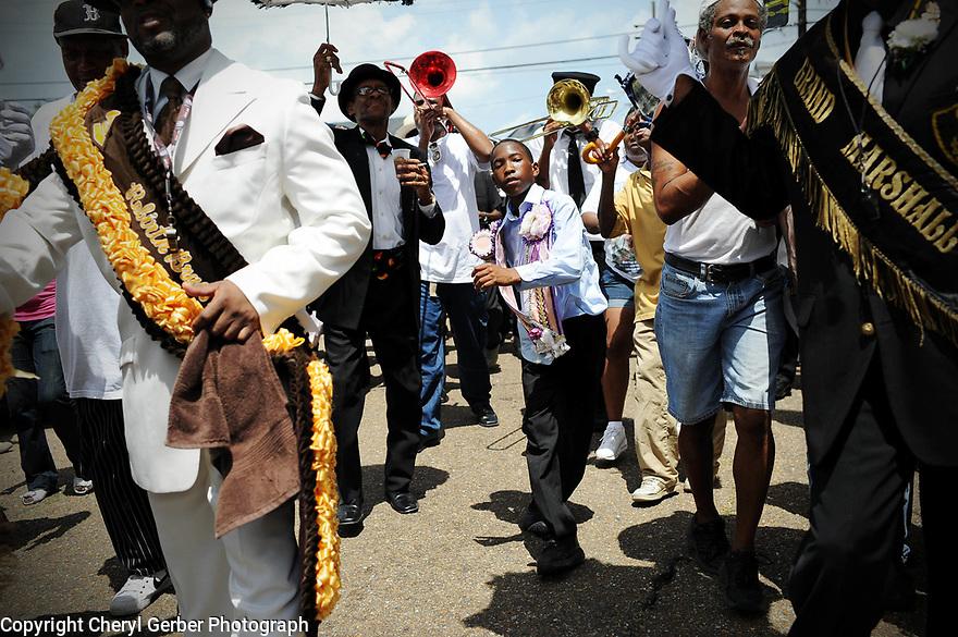 Uncle Lionel Batiste jazz funeral