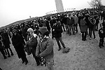"""Thousands gather for the pre-inauguration """"We Are One"""" concert at the Lincoln Memorial."""