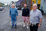 In Miltown on Thursday, l to r: Timmy O'Sullivan, Craig Smith and Mike Larkin McCarthy.