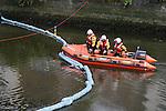 Coastdguard at Oil Leak