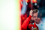 Scuderia Ferrari Mission Winnow, Sebastian Vettel, takes part in the tests for the new Formula One Grand Prix season at the Circuit de Catalunya in Montmelo, Barcelona. February 19, 2020 (ALTERPHOTOS/Javier Martínez de la Puente)