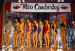 Miss Camberley Beauty Competition. Surrey England UK 1980s.