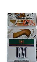 Thailand - : warning on Thai  cigarette packs - 20.05.2008      *** Local Caption *** 01026544