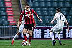 FC Seoul Midfielder Osmar Barba (l) during an attack of Seoul FC during the 2017 Lunar New Year Cup match between Auckland City FC (NZL) vs FC Seoul (KOR) on January 28, 2017 in Hong Kong, Hong Kong. Photo by Marcio Rodrigo Machado/Power Sport Images