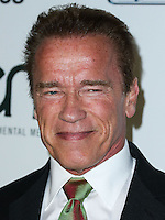 BURBANK, CA, USA - OCTOBER 18: Arnold Schwarzenegger arrives at the 2014 Environmental Media Awards held at Warner Bros. Studios on October 18, 2014 in Burbank, California, United States. (Photo by Xavier Collin/Celebrity Monitor)