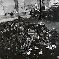 pattern Chain builder at textile mill, Pascoag, RI