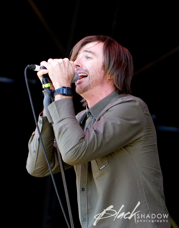 Birds of Tokyo performing at the Big Day Out festival, Flemington Racecourse, Melbourne, 26 January 2009