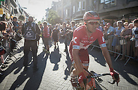 Alexander Kristoff (NOR/Katusha) after finishing<br /> <br /> 12th Eneco Tour 2016 (UCI World Tour)<br /> Stage 6: Riemst › Lanaken (185km)
