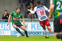 Ralph Ameys (6) of Sparta Petegem pictured during a friendly soccer game between Sparta Petegem and KV Kortrijk during the preparations for the 2021-2022 season , on Wednesday 30th of June 2021 in Petegem , Belgium . PHOTO STIJN AUDOOREN | SPORTPIX.BE