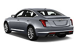 Car pictures of rear three quarter view of 2020 Cadillac CT5 Premium-Luxury 4 Door Sedan Angular Rear