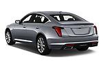 Car pictures of rear three quarter view of 2020 Cadillac CT5 Premium-Luxury 4 Door Sedan Angular Rear