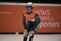 SPEEDSKATING: DORDRECHT: 06-03-2021, ISU World Short Track Speedskating Championships, SF 5000m Relay, Sjinkie Knegt (NED), ©photo Martin de Jong