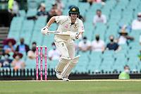 8th January 2021; Sydney Cricket Ground, Sydney, New South Wales, Australia; International Test Cricket, Third Test Day Two, Australia versus India; Steve Smith of Australia runs between wickets