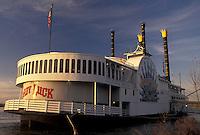 casino, Natchez, Mississippi, riverboat, MS, Mississippi River, Lady Luck Natchez Riverboat Casino on the Mississippi River in Natchez.