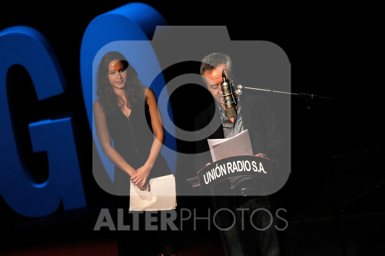"Spanish actors Carlos Hipolito and Irene Escolar during the Gala ""Contigo"" in celebration of the 90th anniversary of Radio Madrid Cadena SER. June 2, 2015. (ALTERPHOTOS/Acero)"