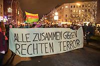 2020/02/20 Berlin | Demonstration gegen rechten Terror