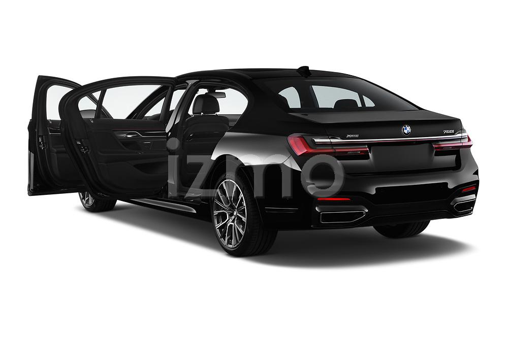 Car images close up view of a 2020 BMW 7 Series M Sport 4 Door Sedan doors
