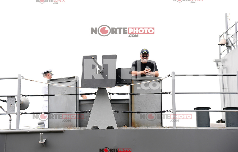 Atmosphere at the' TNT AND THE U.S. Navy  Partner  To Celebrate Series NY FLEET WEEK .NEW YORK, NY - MAY 21, 2014: