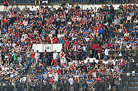 Mexico City, Mexico - Saturday June 10, 2017: Fans during a 2018 FIFA World Cup Qualifying Final Round match between the men's national teams of the United States (USA) and Mexico (MEX) at Azteca Stadium.