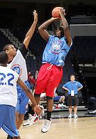 WF Malik Story (Lakewood, CA / Artesia) shoots the ball during the NBA Top 100 Camp held Saturday June 23, 2007 at the John Paul Jones arena in Charlottesville, Va. (Photo/Andrew Shurtleff)