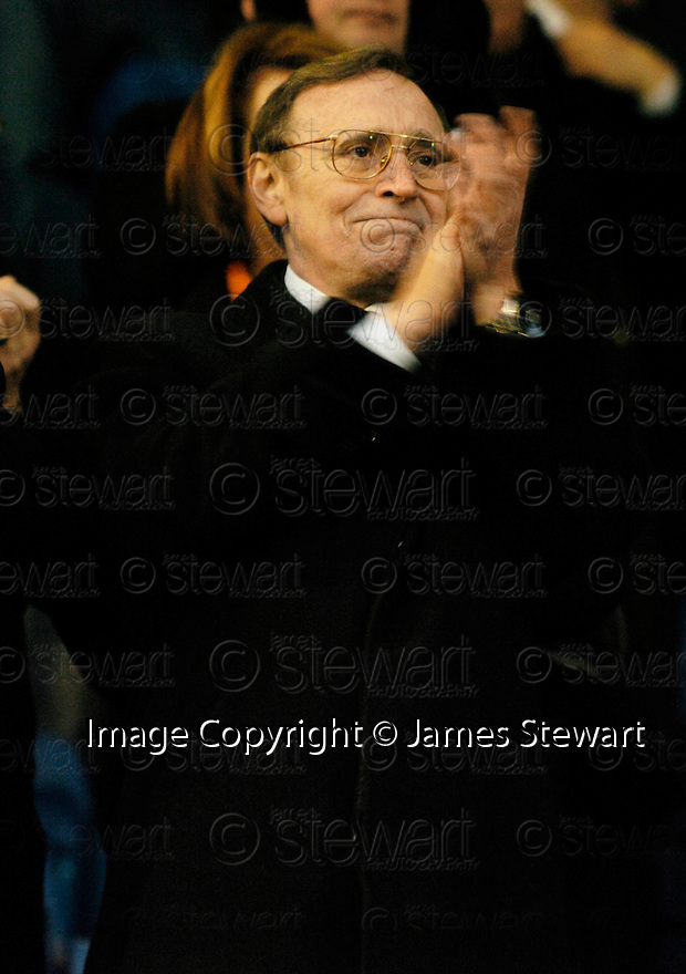 05/02/2005  Copyright Pic : James Stewart.File Name : jspa17_qots_v_dundee_utd.DUNDEE UTD CHAIRMAN EDDIE THOMSON LOOKS HAPPY AT THE END OF THE SCOTTISH CUP 4TH ROUND CLASH AGAINST QUEEN OF THE SOUTH...Payments to :.James Stewart Photo Agency 19 Carronlea Drive, Falkirk. FK2 8DN      Vat Reg No. 607 6932 25.Office     : +44 (0)1324 570906     .Mobile   : +44 (0)7721 416997.Fax         : +44 (0)1324 570906.E-mail  :  jim@jspa.co.uk.If you require further information then contact Jim Stewart on any of the numbers above.........A