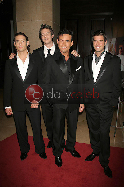 """IL Divo<br />at """"An Evening with Larry King and Friends"""" fundraising gala. The Beverly Hilton Hotel, Beverly Hills, CA. 11-21-06<br />Dave Edwards/DailyCeleb.com 818-249-4998"""
