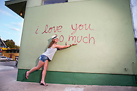 """Austin is home to some amazing street art and murals, """"I love you so much"""" mural is among the most popular."""