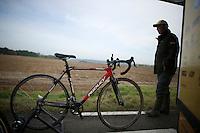 cross bike at the ready<br /> <br /> GP Mario De Clercq<br /> Hotondcross 2014