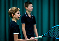 Wateringen, The Netherlands, December 15,  2019, De Rhijenhof , NOJK juniors doubles 12/14/16  years, Thijs Boogaard (NED) and Sander Paradis (NED) (R)<br /> Photo: www.tennisimages.com/Henk Koster