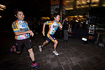 Runners compete during the Bloomberg Square Mile Relay race across Naka-Dori Street in Marunouchi's District on Thursday, 17th May 2018 in Tokyo, Japan. Photo by Victor Fraile / Power Sport Images