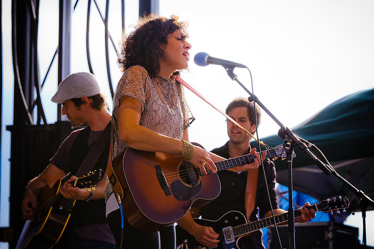 Carrie Rodgriguez performs at the Red Ants Pants Music Festival