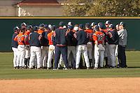 SAN ANTONIO, TX - FEBRUARY 18, 2007: The University of Louisiana at Lafayette Ragin Cajuns vs. The University of Texas at San Antonio Roadrunners Baseball at Roadrunner Field. (Photo by Jeff Huehn)