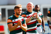 5th June 2021; Mattioli Woods Welford Road Stadium, Leicester, Midlands, England; Gallagher Premiership Rugby, Leicester Tigers versus Bristol Bears; Dan Cole of Leicester Tigers applauds the home supporters after the final whistle