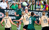 Saint Louis Athletica midfielder Amanda Cinalli (15) during a WPS match at Anheuser-Busch Soccer Park, in St. Louis, MO, July 26, 2009. The match ended in a 1-1 tie.
