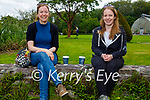 Enjoying a chat and a cuppa in the Muckross Gardens on Sunday, l to r: Angela Daly and Elenor Duggan.
