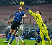 inter-juventus - Milano 17 gennaio 2021 - 18° giornata serie A - nella foto: de vrij e szczesny