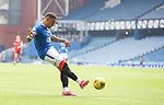 15.05.2021 Rangers v Aberdeen: James Tavernier scores for Rangers