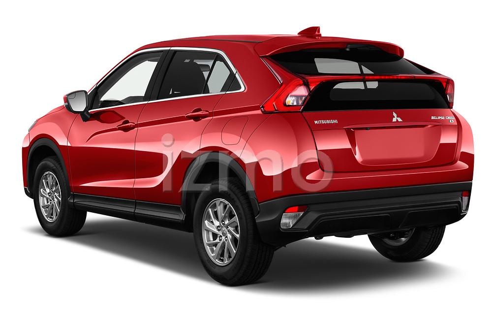 Car pictures of rear three quarter view of a 2018 Mitsubishi Eclipse Cross ES 5 Door SUV angular rear