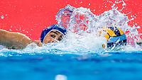 6 ITA VELOTTO Alessandro Italy<br />  <br /> Budapest 16/01/2020 Duna Arena <br /> France (white caps) Vs. Italy (blue caps) Men<br /> XXXIV LEN European Water Polo Championships 2020<br /> Photo  ©Giorgio Scala / Deepbluemedia / Insidefoto