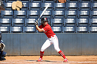 GREENSBORO, NC - FEBRUARY 22: Sam Merino #19 of Fairfield University waits for a pitch during a game between Fairfield and North Carolina at UNCG Softball Stadium on February 22, 2020 in Greensboro, North Carolina.