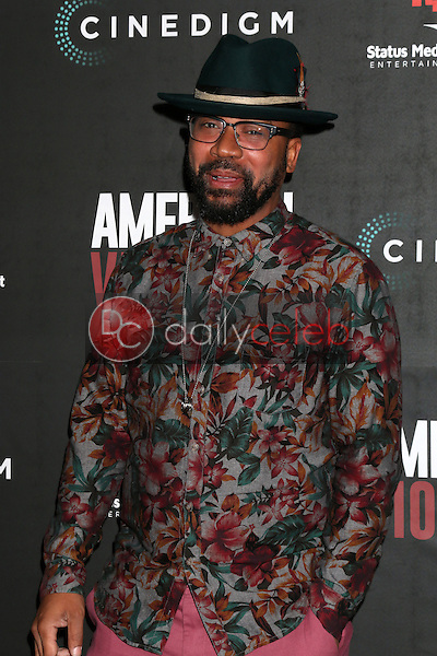 "Columbus Short<br /> at the ""American Violence"" World Premiere, Egyptian Theater, Hollywood, CA 01-25-17<br /> David Edwards/DailyCeleb.com 818-249-4998"