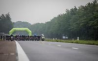 wide Peloton <br /> <br /> Binckbank Tour 2017 (UCI World Tour)<br /> Stage 4: Lanaken > Lanaken (BEL) 155km